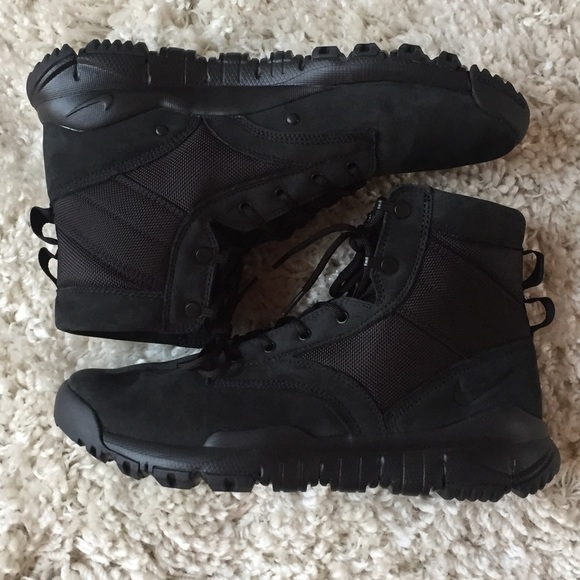 "check out 30fb3 962ad Nike SFB 6"" NSW Leather Boot Black 862507-001 10"